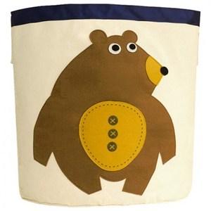 佶之屋 可愛寶寶棉質卡通超大收納桶(9款) 熊