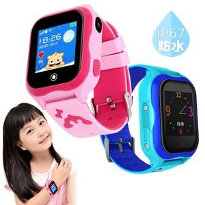 IS愛思 GW-10 防水定位監控兒童智慧手錶俏皮藍