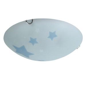 藍色星空3+1燈玻璃環吸頂燈(夜光專利品)