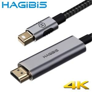 HAGiBiS海備思 MiniDP to HDMI高畫質4K影音轉接線