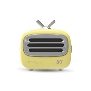 Hawk Mini TV無線藍牙喇叭(08-ATV160)黃色
