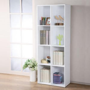 【Homelike】現代風四層八格置物櫃