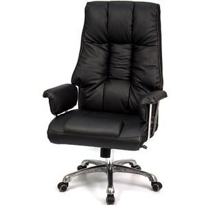aaronation 愛倫國度-真牛皮雙扶手辦公電腦椅
