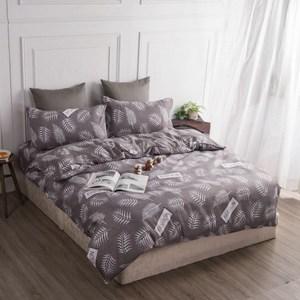 【BARNITE】羅曼蒂克棉感絨四件式兩用被床包組(加大)