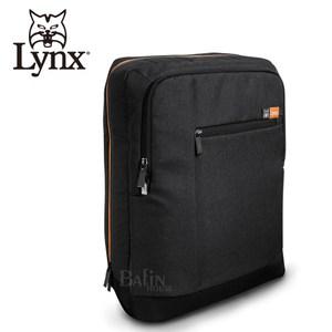 【LYNX】防潑水休閒款多隔層筆電後背包 (LY39-1105-99)