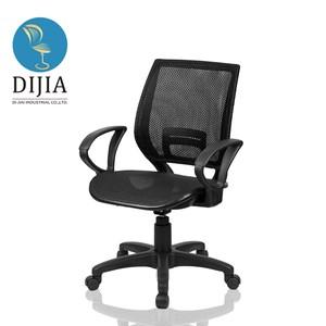 【DIJIA】巴洛克全網電腦椅/辦公椅(黑)黑