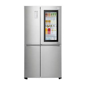 LG 樂金 820公升 敲敲看門中門冰箱 GR-QL88N