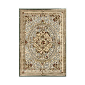 維羅納立體厚絲毯65x110cm 羅浮藍