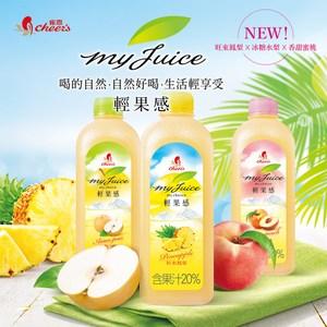 【雀喜 Cheers】 輕果感果汁飲料 960ml×3瓶