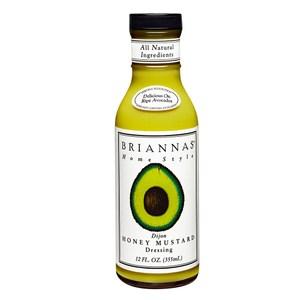 美國Briannas第戎蜂蜜芥末醬355ml