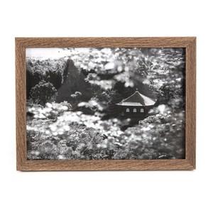 HOLA 壁掛/桌立兩用相框深木色 5x7