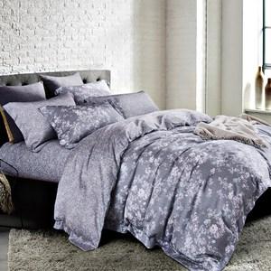 【Betrise多款任選】單雙加均一價-100%奧地利天絲兩用被床包組葉錦-紫-單人