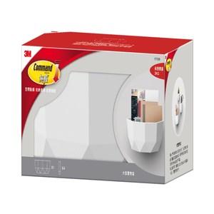 3M 無痕 LIFESTYLE 大型置物盒 白色