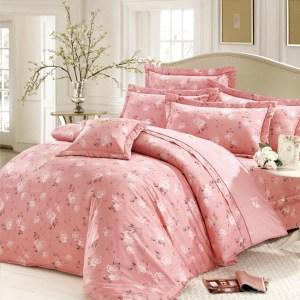 Arnold Palmer雨傘牌 綴花紛紛-精梳棉床罩雙人七件組