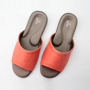 76029仿皮悠能室內皮拖鞋-橘L