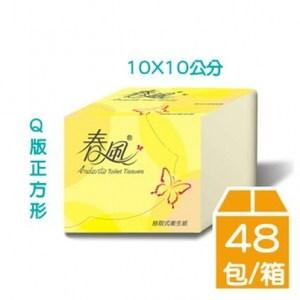 春風單抽式抽取式衛生紙(250抽X48包/箱)