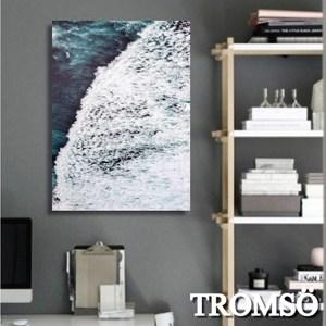 TROMSO時尚無框畫/藍海國度