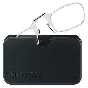 THINOPTICS 隨身輕薄老花眼鏡+攜帶鏡盒 (透明250度)