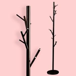 穩重型樹枝造型衣帽架(黑色)