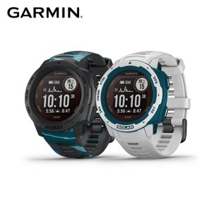 GARMIN INSTINCT Solar太陽能GPS腕錶-運動衝浪版礁石灰