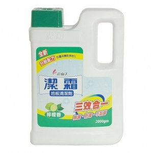 潔霜地板清潔劑 -檸檬