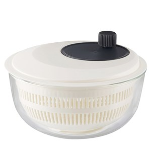 日本iwaki 耐熱玻璃蔬果瀝水器微波調理盆