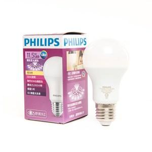 飛利浦11.5W黃光 七代全廣角LED燈泡