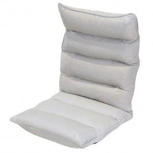 舒適仿麻和室椅 米