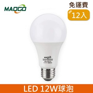 HONEY COMB Maogo LED12W廣角度球泡12入TB812W-12 / 白光