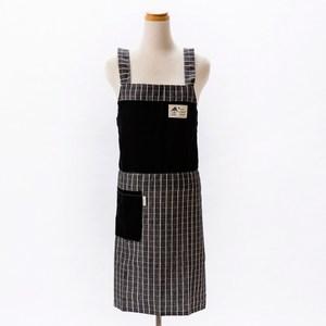 簡約方格防水圍裙 混色隨機