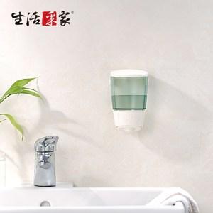 【生活采家】幸福手感典藏純白500ml單孔手壓式給皂機(#47035)