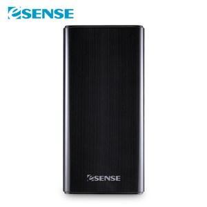 Esense雙輸入行動電源-低價版(37-APE100)黑色