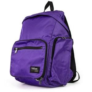 YESON - 可摺疊收納雙肩後背包兩色可選-MG-6658紫