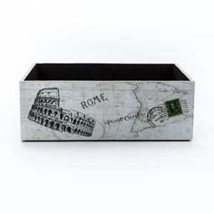 莫爾復古可堆疊大收納盒 羅馬