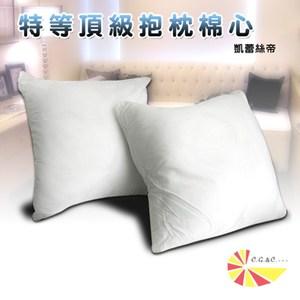 【凱蕾絲帝】特級可水洗棉-抱枕裸棉內材58~60CM專用-六入
