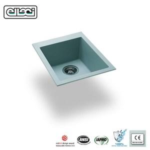 【MIDUOLI米多里】QUADRA100-U 金屬結晶石水槽/下嵌灰白色