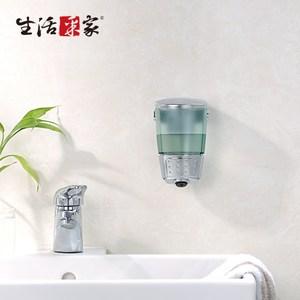 【生活采家】幸福手感典藏鍍銀500ml單孔手壓式給皂機(#47028)