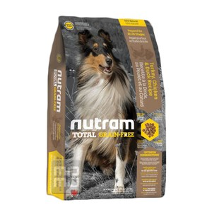 Nutram 紐頓 T23無穀潔牙犬 火雞配方 犬糧 2.72kg X 1包