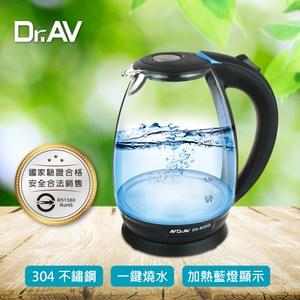【Dr.AV 聖岡】N Dr.AV  DK-800G藍光玻璃快煮壺、電