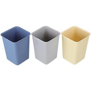 大方型京都垃圾桶12.7L 混色