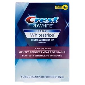 美國 Crest 3D White 溫和型美白牙貼 14天份