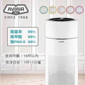 AVIAIR 智能 ECO空氣循環清淨機-除菌率>95% AVI-60