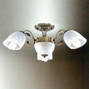 YPHOME 典雅風臥室半吸頂3燈 S82165H