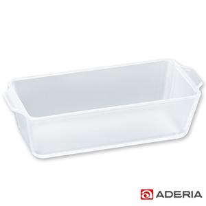 【ADERIA】日本進口陶瓷塗層耐熱玻璃蛋糕烤盤