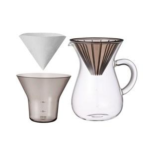 SCS手沖咖啡壺組600ml-濾紙型