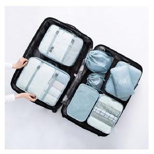 旅行收納袋套組-(藍色)