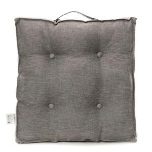 浮紋編織胖胖墊 50x50cm 灰