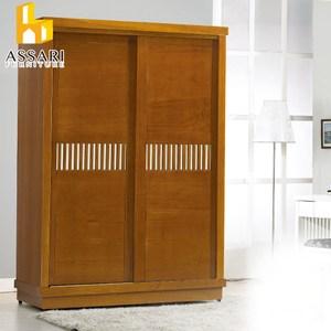 ASSARI-柚藝實木5*7尺衣櫃