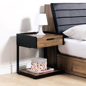 【YFS】依娜單抽床頭櫃-54x40x50cm