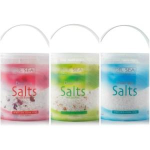 DR.SEA以色列死海沐浴鹽-3款各1(1200g)*3